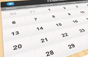 2016年度スケジュールのイメージ